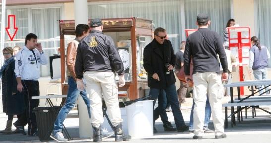 Kevin Costner u Beogradu (za fotografiju hvala Aleksandru Jovanoviću)